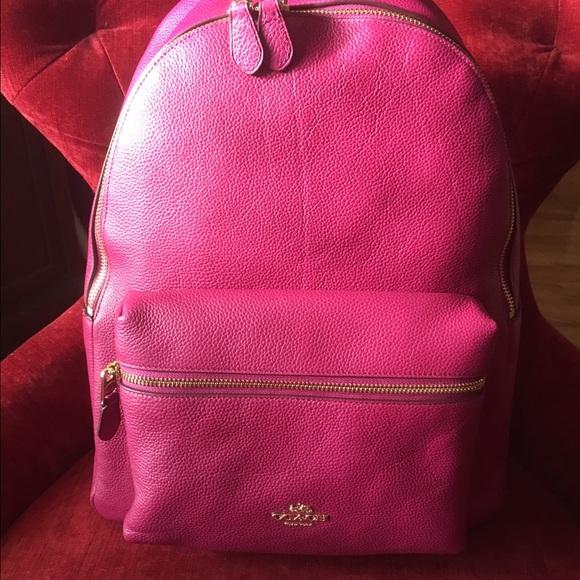 3d67fc1862 Coach Handbags - Coach Charlie Pebble Leather BCPK F38288 UEC