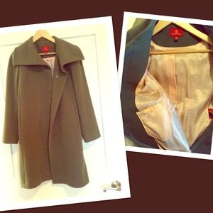 Classic Cole Haan Wool Coat
