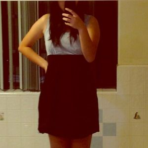 Dresses & Skirts - Black and grey dress