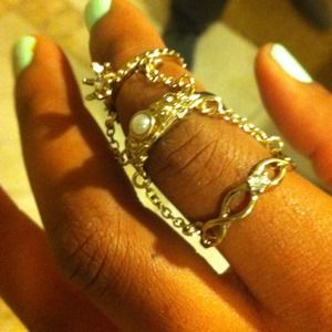 Topshop cage ring