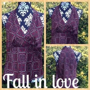 Worthington Tops - 🍂Gorgeous Fall Colored Blouse!!🍂