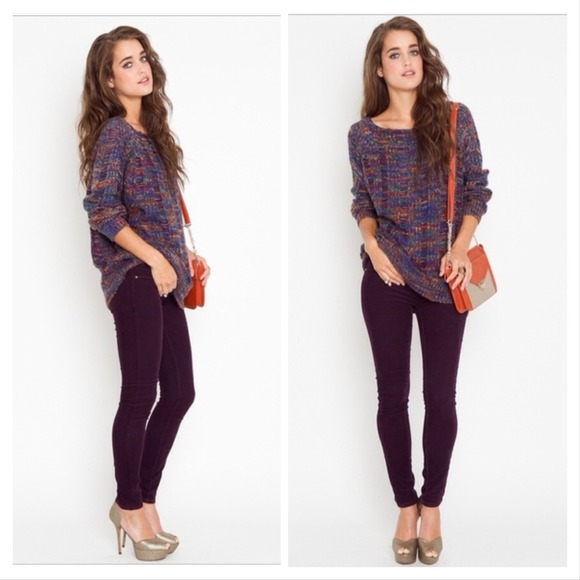 38% off H&M Pants - H&M Dark Purple Corduroy Pants from Amanda's ...