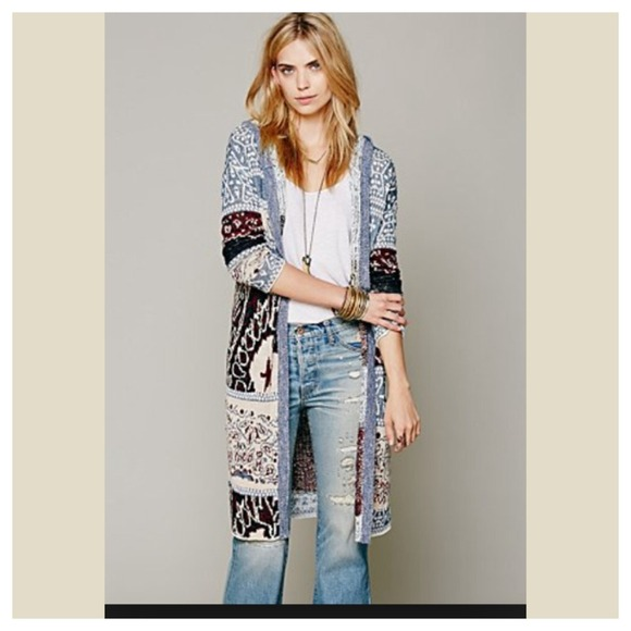 49% off Free People Jackets & Blazers - Free people long sweater ...