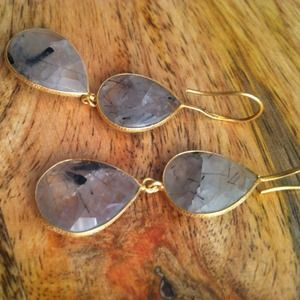 handmade Jewelry - Final price🎉 Tourmalated quartz earrings 3