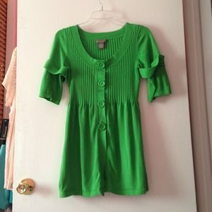 Kenar Green Tunic