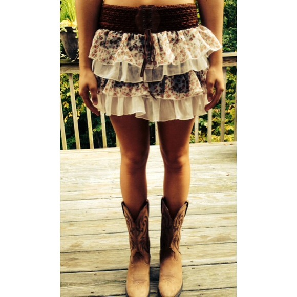 7cec454fc0 The Runway Skirts   Floral Patterned Country Girl Skirt   Poshmark