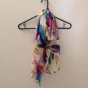 Accessories - Feather Scarf