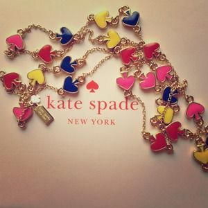 "Kate Spade ""Spade to Spade"" necklace"