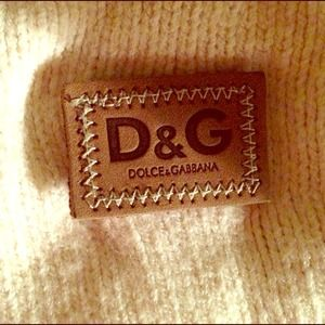 Cream Dolce & Gabbana sweater vest - AUTHENTIC