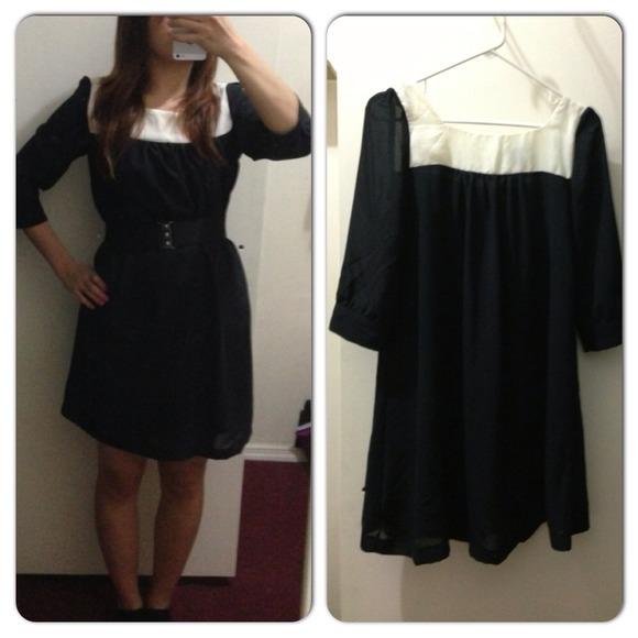 H&m Dresses Skirts Black
