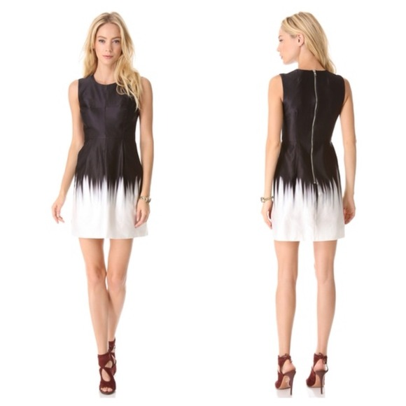 Milly - BUNDLED🎉HP🎉Milly Coco Ombré Dress Black/White from ...