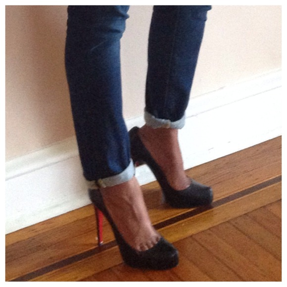 Christian Louboutin Shoes - Christian Louboutin Rolando Hidden-Platform Pump