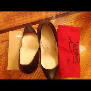 Christian Louboutin Shoes - Christian Louboutin Rolando Hidden-Platform Pump