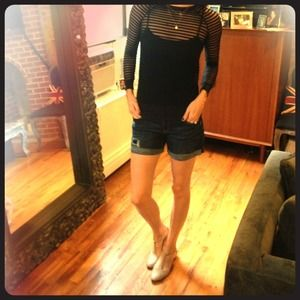 Aeropostale Denim - Denim Shorts w Rolled Cuff