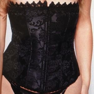 Just ReducedFredericks of Hollywood blk Corset