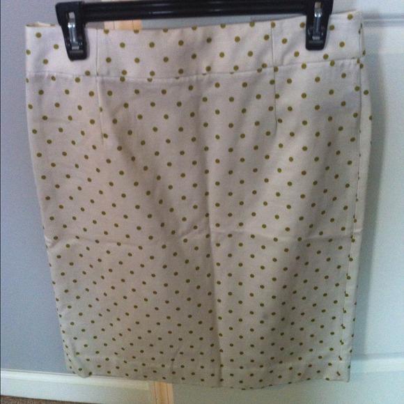 J.Crew Polka Dot Pencil Skirt