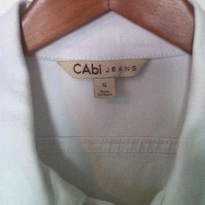 CAbi Jackets & Coats - CAbi white denim jacket