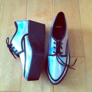 ASOS Shoes - holographic oxfords