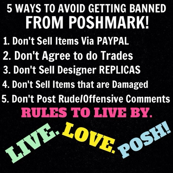 bb9cec99ec ✨5 WAYS TO AVOID GETTING BANNED FROM POSHMARK!✨