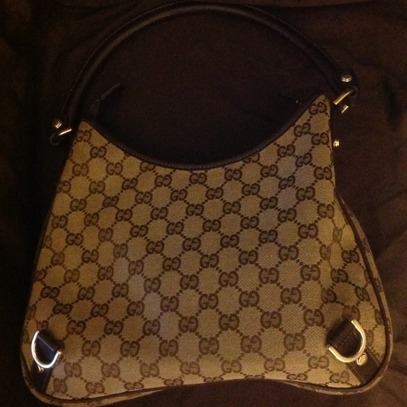 gucci used. gucci bags - 💯 authentic used gucci abby hobo bag👜🌹 s
