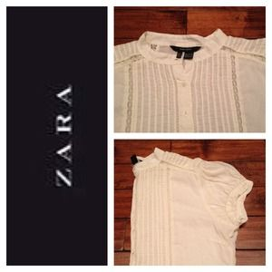 Zara Tops - Beautiful Feminine Top by Zara