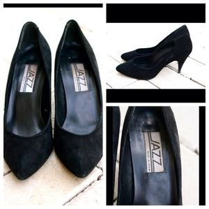 Black Jazz Pumps