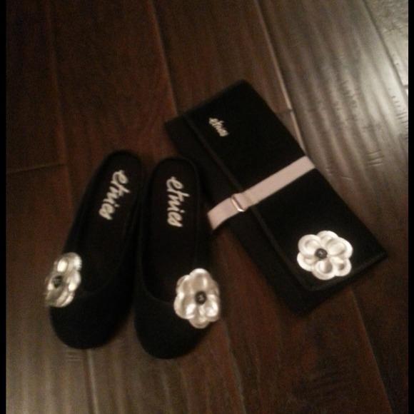 4f56e379b etnies Shoes - Etnies Casual footwear black W sliver flower