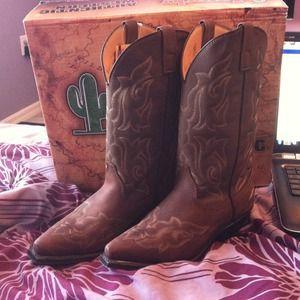 laredo Shoes - Laredo womens runaway boots- gaucho