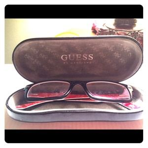 Ray Ban glasses w/ Guess glasses case