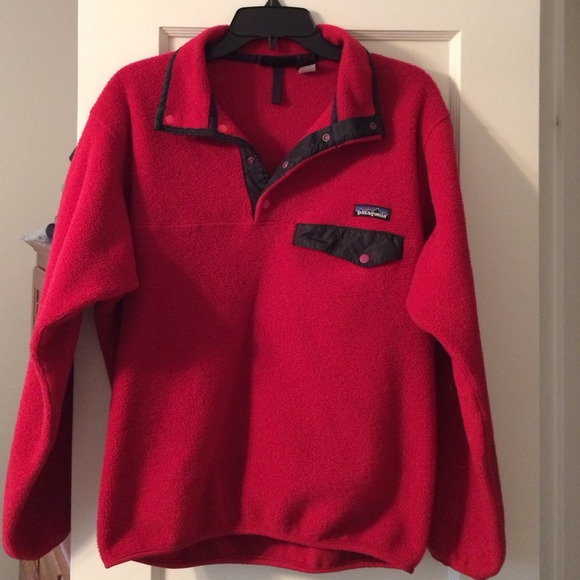 58% off Patagonia Outerwear - Women's Patagonia (Red Fleece) from ...