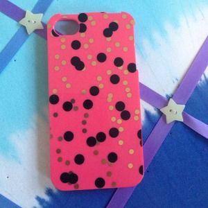 Accessories - Polka Dot iPhone Case