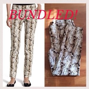 Bundled! 2x Host Pick 🎉WHBM python city pants