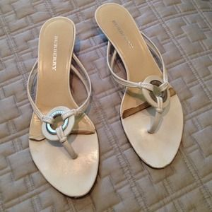 100% authentic Burberry sandals