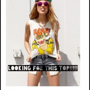 Looking for Forever 21 Bowser Rawr Muscle Tank Top