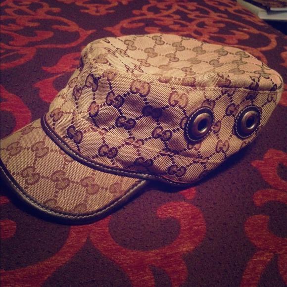 d760bad1d0d Gucci Accessories - Authentic Gucci conductor hat