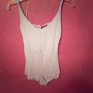 Other - Open back romper
