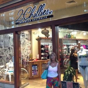 Other - At the 2chillies beachwear store in Hawaii