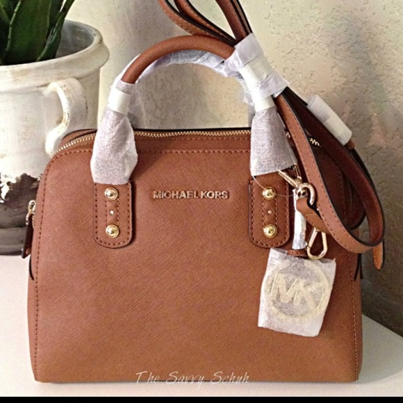 6% off Michael Kors Handbags - Michael Kors LARGE Saffiano Leather ...