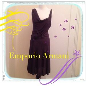 Emporio Armani Dresses & Skirts - Emporio Armani Asymmetrical Dress