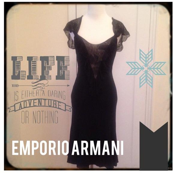 Emporio Armani Dresses & Skirts - 🍒11/16 HP🍒 Emporio Armani Lace