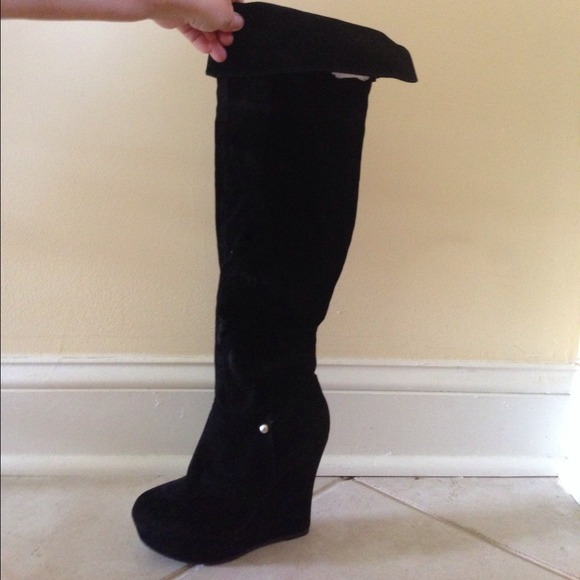 9221431f871 Bamboo Boots - Knee High Boots by Bamboo Size 6 Brand New w Box