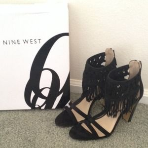Nine West Fringe Heels *NEW*