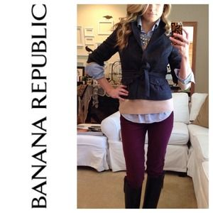 Banana Republic Jackets & Blazers - Banana Republic Wool Military Jacket