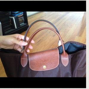 11900ed628d2 Longchamp Bags - 100% authentic longchamp chocolate bag no zipper