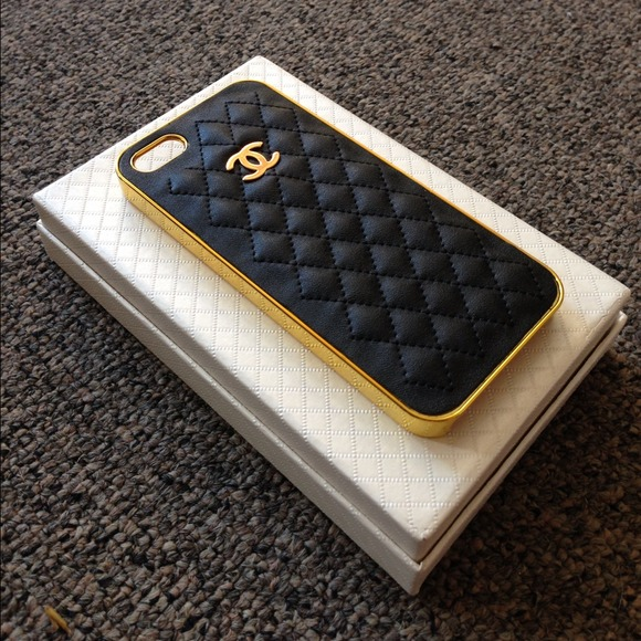 Quilted Chanel Iphone 5 Case Quilted Iphone 5 Case