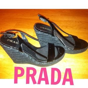 PRADA Wedge Heel