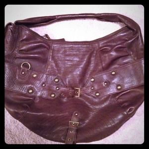 Brass and Brown detailed BCBGirls handbag!!