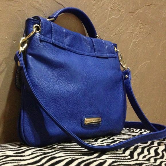 Steve Madden - 🚫SOLD!🚫Steve Madden Cobalt Blue Crossbody Bag ...