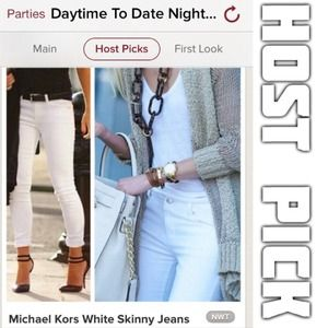 Michael Kors Denim - Michael Kors White Skinny Jeans