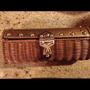Michael Kors wicker clutch!
